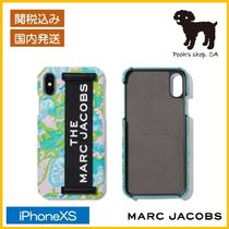 【MARC JACOBS】THE ELASTIC  IPHONE XS ケース◆国内発送◆