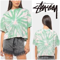 【Stussy】Women's Lottie Boxy T-Shirt ロゴ入り 半袖 Tシャツ
