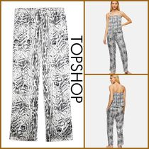 TOPSHOP【関税込み】BLUR ANIMAL PYJAMA TROUSERS R372