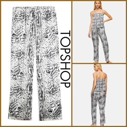 TOPSHOP ルームウェア・パジャマ TOPSHOP【関税込み】BLUR ANIMAL PYJAMA TROUSERS R372