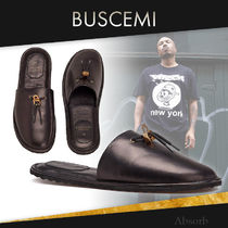 【20SS NEW】buscemi_men /GREENWICHキーロックスリップオン/ 黒