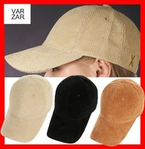人気☆【VARZAR]☆Gold Point Corduroy Over-fit Ball Cap ☆3色