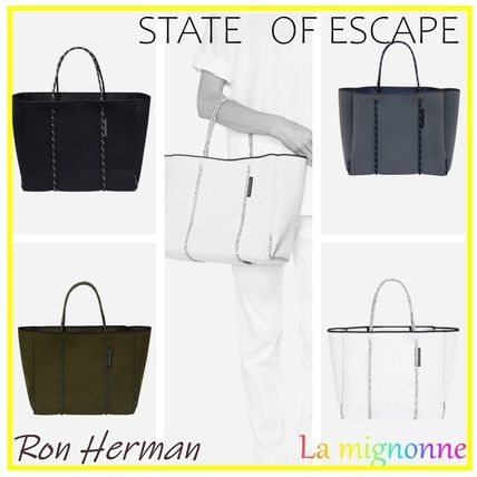 Ron Herman マザーズバッグ 送料込*Ron Herman取扱*State of Esape  Flying solo tote 4色