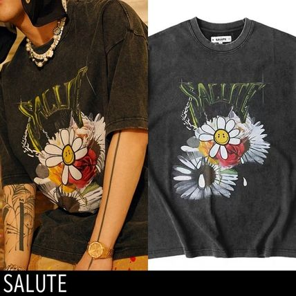 【SALUTE】FLOWER ANARCHY Tシャツ*送料・関税込*