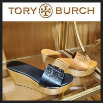[TORY BURCH] ウェッジサンダル INES WEDGE SLIDE