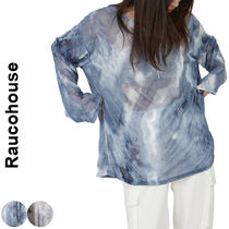 Raucohouse(ラウコハウス)★LOOSE TIE-DYE MESH TOP 2色
