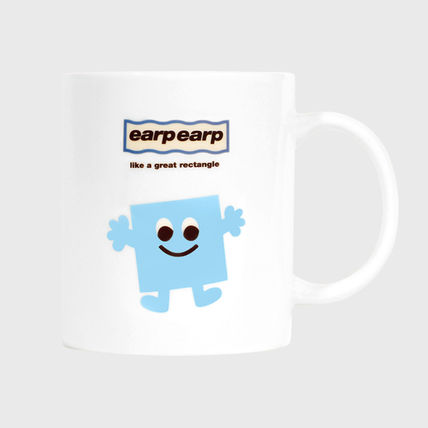 earpearp マグカップ earpearp★韓国★マグカップ★Mug cup eyes square_triangle(2)