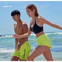 [ ZEXYMIX ] Cooling Board Short Pants (Lime) ボードショーツ
