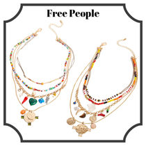 関税込!【FREE PEOPLE】Daytripper Layered Necklace