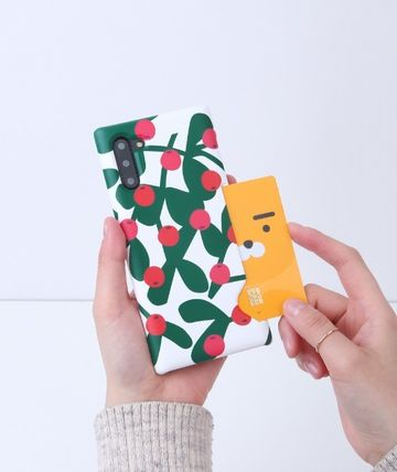 tipitipo iPhone・スマホケース [tipitipo] カード収納 Redberry Card Hard Case
