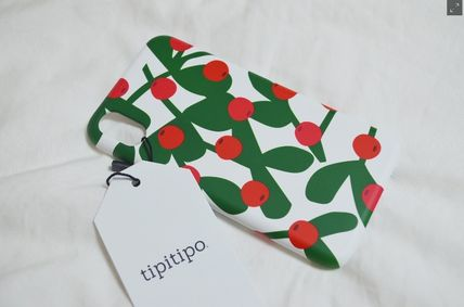 tipitipo iPhone・スマホケース [tipitipo] カード収納 Redberry Card Hard Case(4)
