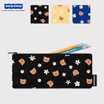 earpearp★韓国★文具ペンケース★Pencil case Dot flower bear