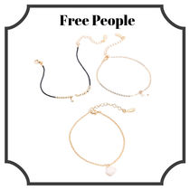 【FREE PEOPLE】Delicate Pearl Anklet Set アンクレットセット