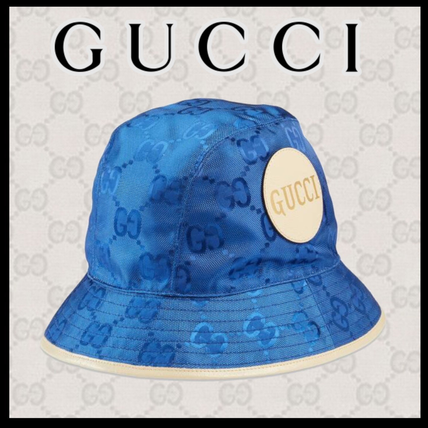 GUCCI★日本限定 Gucci Off The Grid フェドラハット (GUCCI/ハット) 627115 4HK79 4377