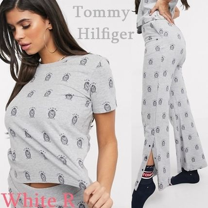 Tommy Hilfiger ルームウェア・パジャマ *Tommy Hilfiger Tommywear コットン プリント 上下セット*
