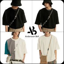 ANDERSSON BELL INSIDE OUT ASYMMETRY SHORT-SLEEVE SWEATSHIRTS