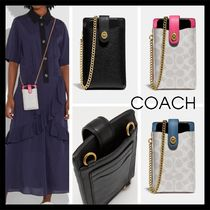 【COACH】Turnlock Chain Phone Crossbody 携帯ケース 3色