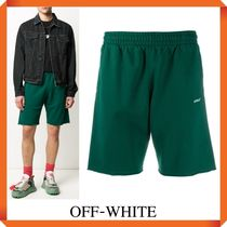 OFF-WHITE Caravaggio Arrows-print track shorts