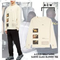 A-COLD-WALL(アコールドウォール) Tシャツ・カットソー NEW!お早めに!A-COLD-WALL  LONG SLEEVE GLASS BLOWER TEE