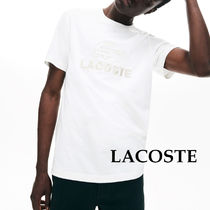 【LACOSTE】ラコステ Embroidery Cotton Tシャツ