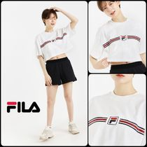 ☆大人気☆FILA F Box Logo Tape Crop Tee☆