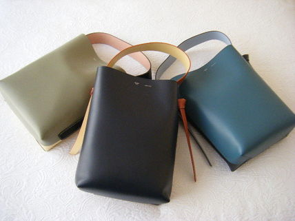 CELINE トートバッグ CELINE by フィービー♡旧ロゴ☆Twisted Cabas Smallサイズ(3)