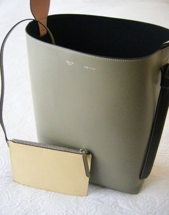 CELINE トートバッグ CELINE by フィービー♡旧ロゴ☆Twisted Cabas Smallサイズ(6)
