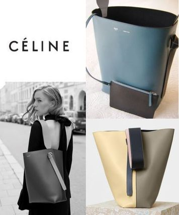 CELINE by フィービー〓旧ロゴ☆Twisted Cabas Smallサイズ