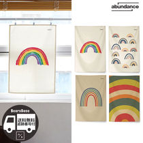 abundance Rainbow illustration fabric poster BBM1213 追跡付
