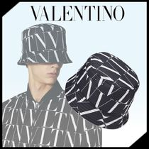 ◆VALENTINO◆ VLTN TIMES ナイロン バケット ハット