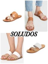 送料込 Ronherman取扱 SOLUDOS Braided Slide Sandals