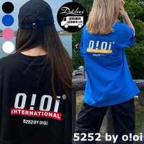 5252 by o!oi OI BACK LOGO T-SHIRTS PK1001 追跡付