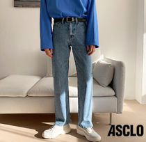 ASCLO +5cm  Regular Fit Denim Pants (9031)
