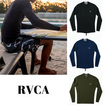 RVCA ☆ANCELL BACK ZIP NEOPRENE☆ ラッシュガード