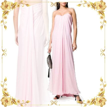 alexander mcqueen ボレロ・ショール 関税込み◆LONG DRAPED DRESS
