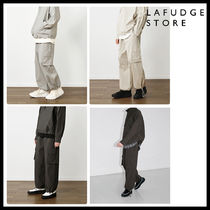 ◆LAFUDGE STORE◆ ORDINARY WIDE CARGO JOGGER PANTS 韓国人気