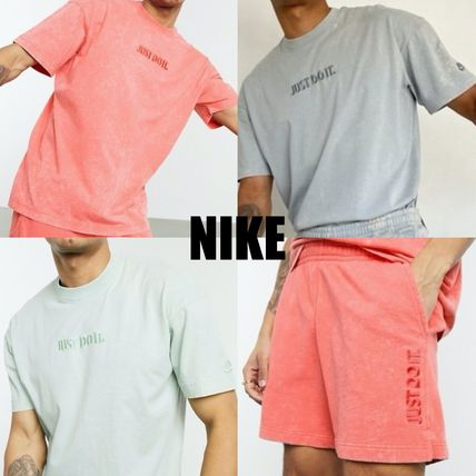 Nike セットアップ Nike Just Do It washed Tシャツ&ショーツ(3色)/送料関税込み