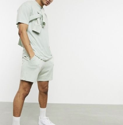 Nike セットアップ Nike Just Do It washed Tシャツ&ショーツ(3色)/送料関税込み(13)