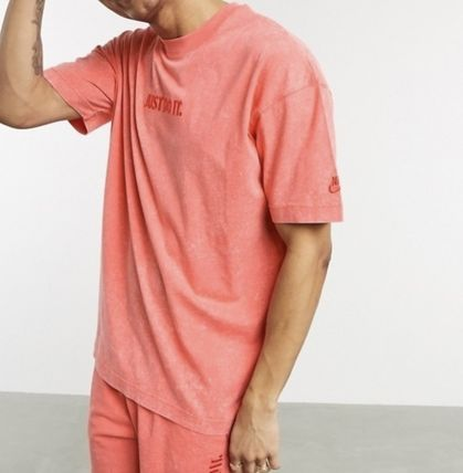 Nike セットアップ Nike Just Do It washed Tシャツ&ショーツ(3色)/送料関税込み(16)