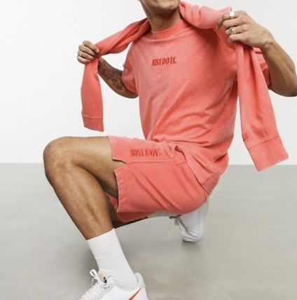 Nike セットアップ Nike Just Do It washed Tシャツ&ショーツ(3色)/送料関税込み(19)
