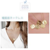 日本未発売 送料込【AMANDA DEER】Zodiac Coin Necklace