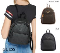 GUESS*MUZE LOGO BACKPACK*ロゴプリント・バックパック♪