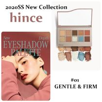 ☆hinceヒンス☆NEW DEPTH EYESHADOW PALETTE 《GENTLE & FIRM》
