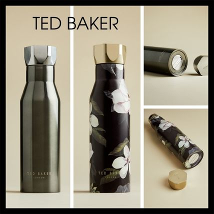 TED BAKER タンブラー 【TED BAKER】おしゃれ LIINDAA Opal print water bottle 2色