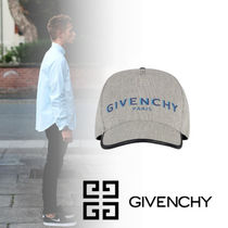 【GIVENCHY】2020SS新作*キャンバス&レザー ロゴ キャップ