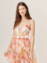 For Love & Lemons for Victoria's Secret☆Peony Maxi Dress
