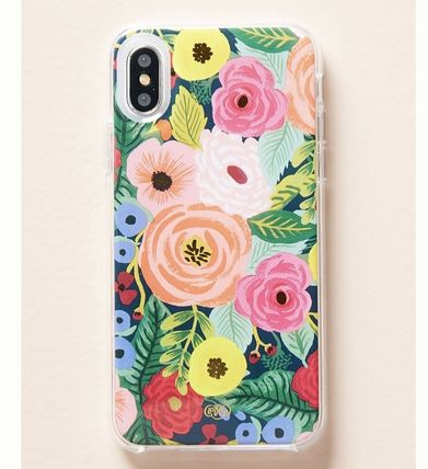 Anthropologie スマホケース・テックアクセサリー アメリカ買付★Rifle Paper Co. Juliet iPhone X/XS ケース(2)