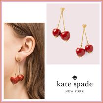 kate spade☆tutti fruity cherry linear earrings☆送料込