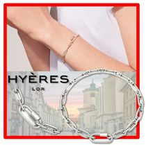 HYERES LOR(イエールロール) ブレスレット BTS 着用★韓国の人気★ Hyeres lor★Silver Chain Bracelet★