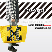 OFF-WHITE COMMERCIAL TOTE ☆ISETAN LIMITED【送料0/国内即発】